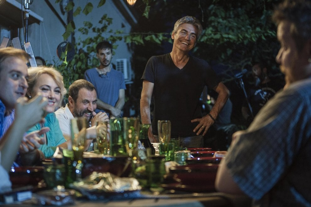 'Made in Italy', sul set con Ligabue e Accorsi