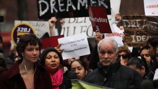 Protesta anti-Trump a New York
