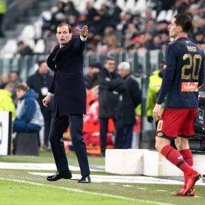 """Juventus, Allegri: """"Stanchi nel finale, ma contava solo vincere"""""""