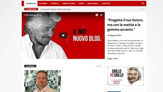 """Grillo lancia il nuovo blog separato dal M5s. Di Maio: """"Nessun parricidio ma noi avanti da soli"""""""
