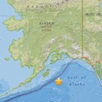 Alaska, terremoto 8,2: popolazione invitata a spostarsi all'interno per