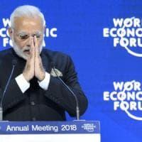 Davos, Modi schiera l'India contro il protezionismo di Trump