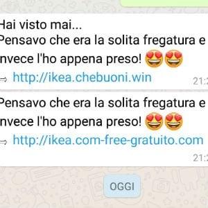 """""""Hai un buono Ikea da 500 euro"""": occhio alla bufala via Whatsapp"""