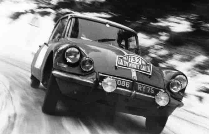 Rally di Monte Carlo, quando in gara c'era la DS