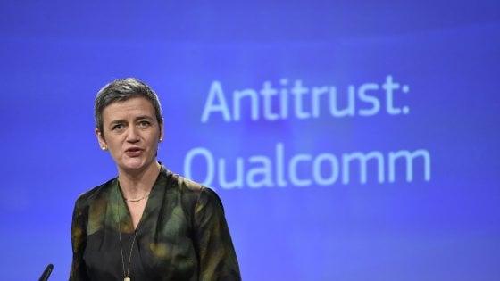 La commissaria Vestager annuncia la sanzione