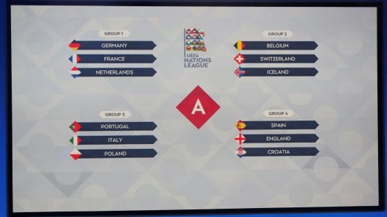 Nations League, l'Italia sfiderà Portogallo e Polonia