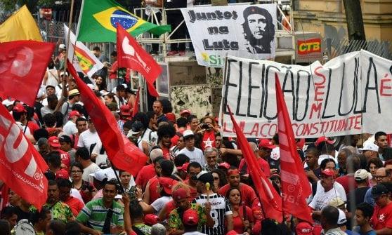 Corruzione e riciclaggio: Brasile, l'ex presidente Lula condannato anche in appello