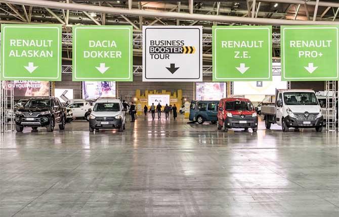 """Renault, al via la quarta edizione del """"Business Booster Tour"""""""