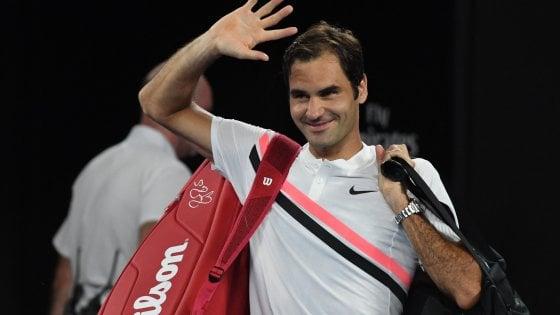 Tennis, Australian Open: Chung si ritira, Federer in finale contro Cilic