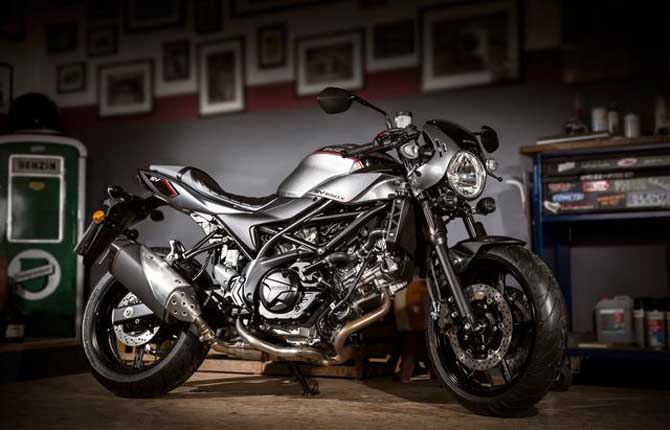 Suzuki SV650X, café racer per tutti
