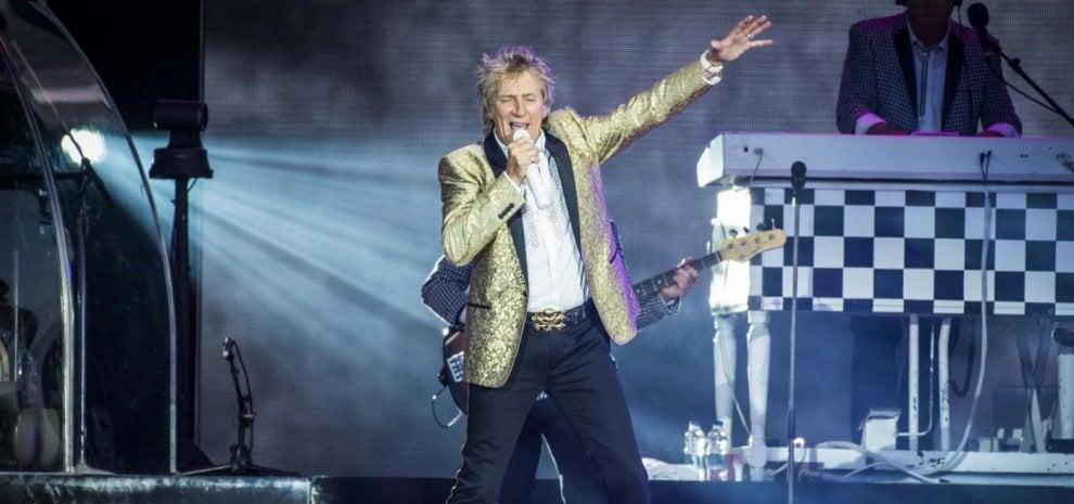 Rod Stewart, il 'mod' scozzese per una sola data, i Depeche Mode incendiano la Penisola