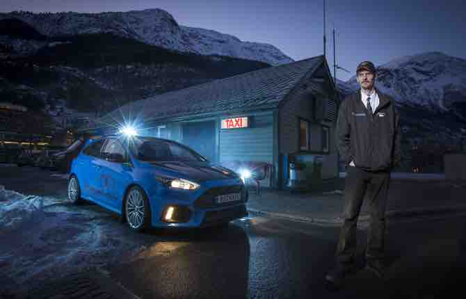 In Norvegia la prima Ford Focus RS Taxi