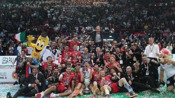 Volley, Coppa Italia: la prima volta di Perugia, Civitanova al tappeto