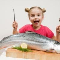Il pesce una volta a settimana rende i bambini più intelligenti
