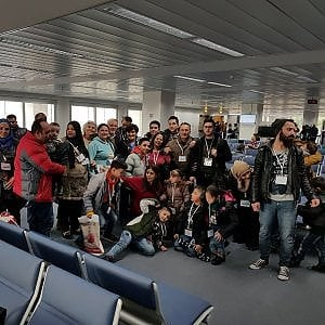Trenta profughi siriani in Italia grazie ai corridoi umanitari
