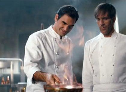 """Davide Oldani: """"Così ho insegnato l'arte della pasta a Roger Federer"""""""