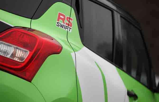 Nuova Swift 1.0 Boosterjet RS, dalla strada alla pista