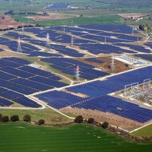 L'impianto fotovoltaico di Montalto di Castro, alle porte di Roma