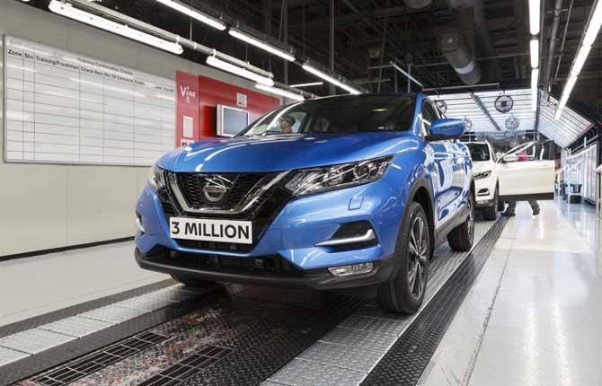 Nissan Europa in festa: tre milioni Qashqai