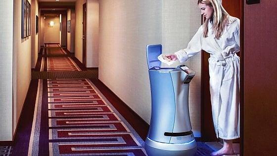 Maggiordomi-robot. Negli hotel Usa sono già tendenza