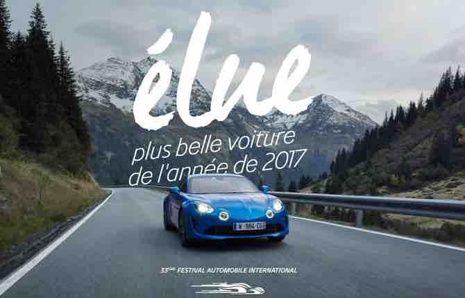 Alpine A110 eletta auto più bella dell'anno