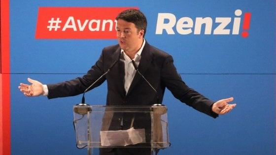 """Pd, Renzi apre la sua campagna elettorale a Scandicci. """"Tra Lega e M5s c'è già una grande coalizione"""""""