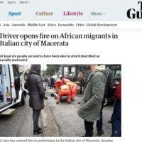 Dalla Bbc al L.A. Times: il raid razziale a Macerata su tutti i siti stranieri