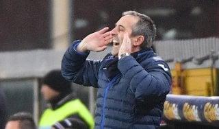 "Sampdoria, Giampaolo: ""Partita fisica, noi bravi a starci dentro"""