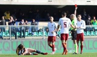 Le pagelle di Verona-Roma: Romulo è ovunque, Pellegrini nervoso