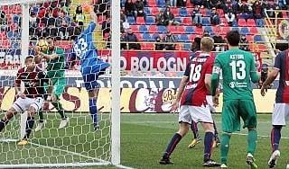 Bologna-Fiorentina 1-2, decide Chiesa dopo due 'gol olimpici'