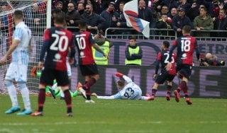 Cagliari-Spal 2-0: decidono Cigarini e Sau, i sardi vincono in casa dopo 3 mesi
