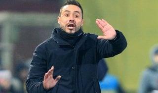 """Benevento, De Zerbi: """"I rivali per la salvezza siamo noi stessi"""""""