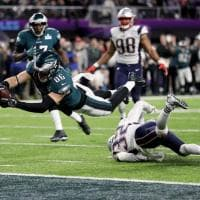 Nfl, le immagini più belle del Super Bowl Eagles-Patriots