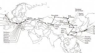 Ovest-Est: ma senza aereo