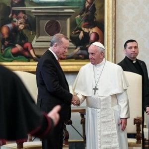 Freddezza con l'Italia, dialogo con il Vaticano: i risultati della visita di Erdogan