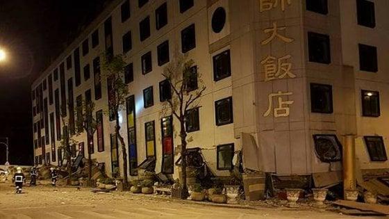 Terremoti, forte scossa a Taiwan