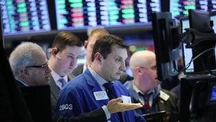 Le Borse Ue chiudono in volata, Wall Street chiude negativa