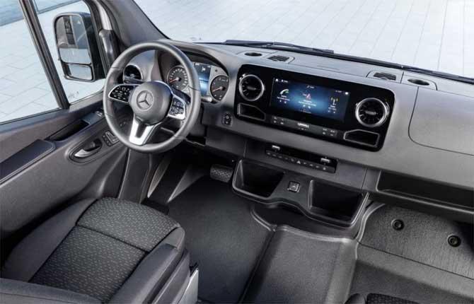 Sprinter Mercedes, trasporti in prima classe