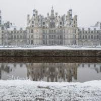 Chambord. La magia del castello sotto la neve