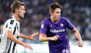 """Fiorentina, Chiesa: """"Dare tutto contro la Juve, per città e maglia"""""""