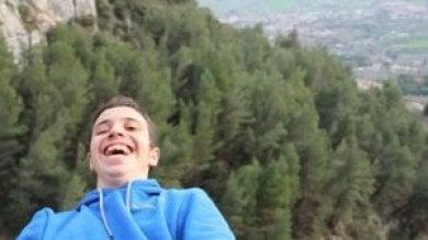 Il grande coraggio di Gabriele non vedente all'attacco dell'Everest