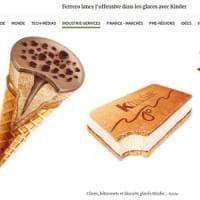 La 'guerra' di Francia della Ferrero: lancia i gelati Kinder. E c'è anche il cono al gusto Bueno