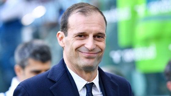 Juventus, Allegri: ''Lo scudetto si deciderà all'ultima giornata. Napoli super grazie a Sarri''