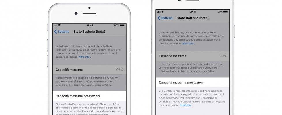 Apple, ecco come potrai tenere d'occhio la batteria