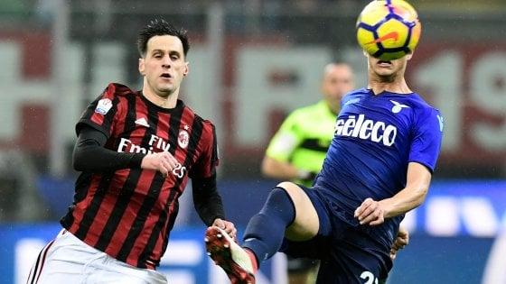 Milan, Kalinic stop: Cutrone titolare con la Spal