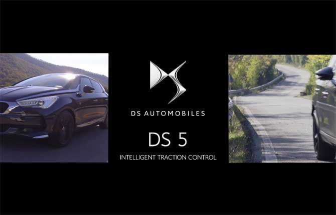 "DS5, tocca all'""Intelligent Traction Control"""