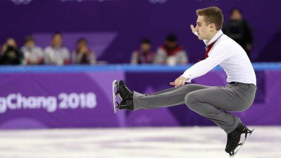 PyeongChang 2018, pattinaggio figura, Team Event: Italia settima dopo prima giornata