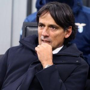 """Lazio, Inzaghi: """"Ma quale crisi? Abbiamo perso una partita..."""""""