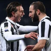 Fiorentina-Juventus 0-2: Bernardeschi e Higuain piegano i viola