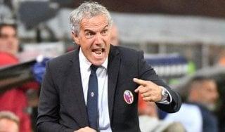 """Bologna, la carica di Donadoni: """"Non voglio una squadra succube dell'Inter"""""""